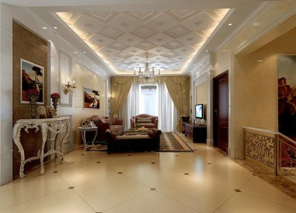 le faux plafond suspendu est une d co pratique pour l 39 int rieur. Black Bedroom Furniture Sets. Home Design Ideas