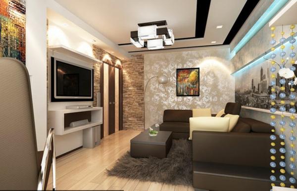 faux-plafond-suspendu-petite-salle-de-séjour