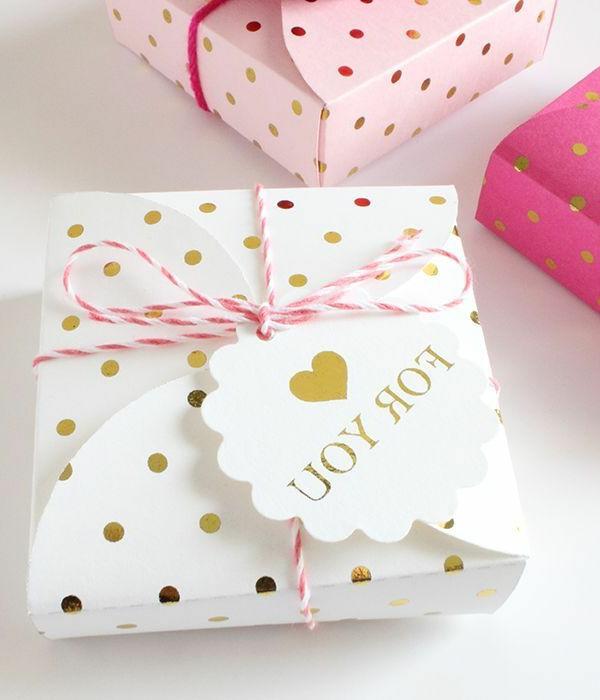 Emballage cadeau original et beau