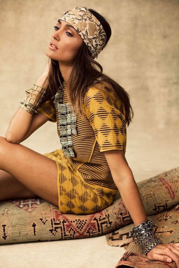 idée-cool-de-robe-chic-hippie-bohemienne