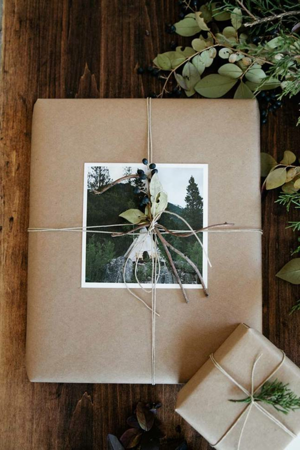 idée-créative-photos-emballage -cadeaux-original -et-chic