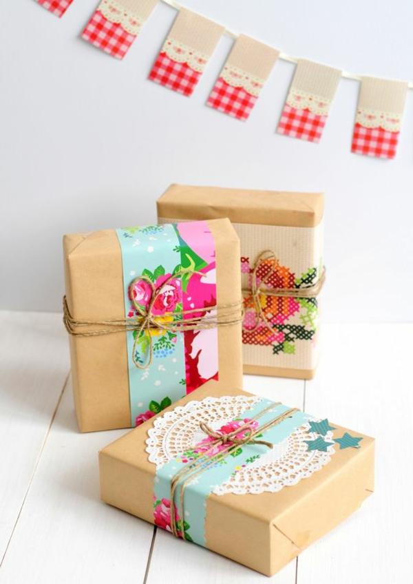 Faire Un Papier Cadeau Original – Obasinc
