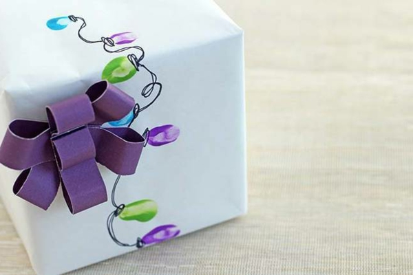 idées-créatives-emballage -cadeaux-original -et-chic-boulles-de-noel