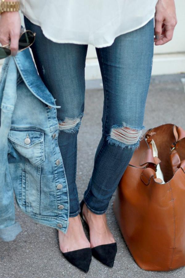 jean-déchiré-troué-taille-haute-chemise