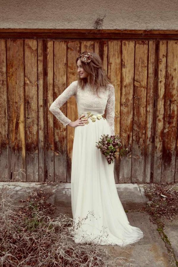 joli-bouquet-de-mariage-idée-créative-vintage-photo