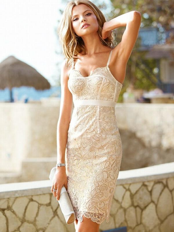 jolie-robe-de-soirée-blanche-victoria-secret