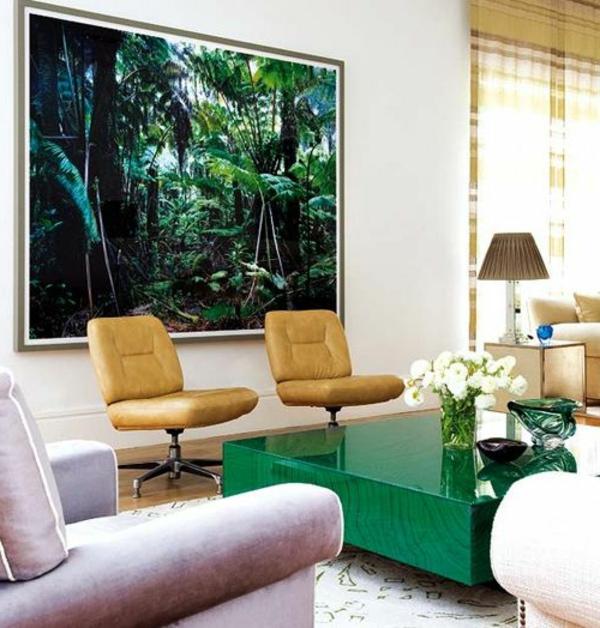 jolie-table-en-verre-vert
