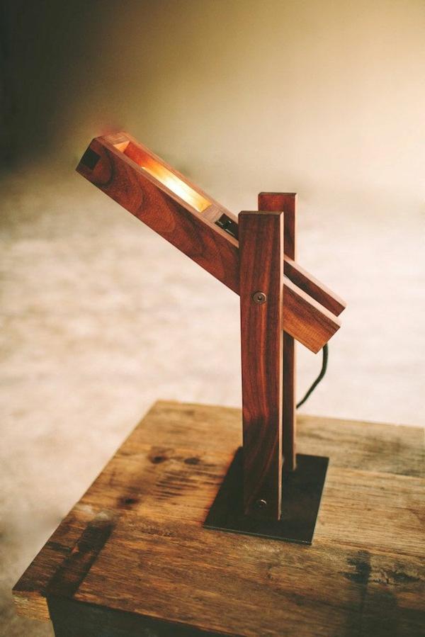 lampe-en-bois-idée-créative
