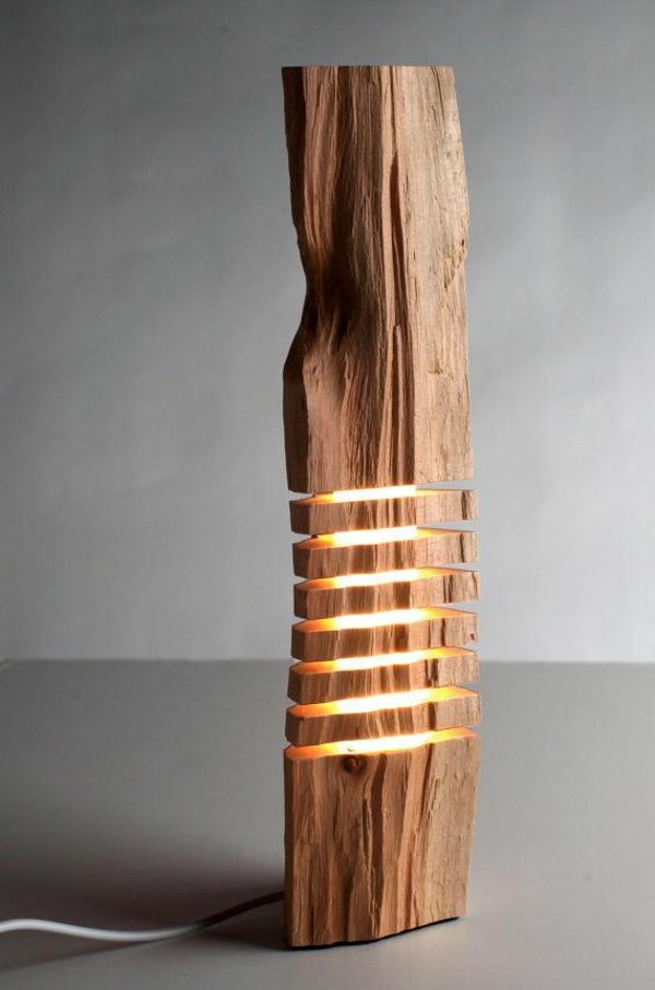 lampe-en-bois-ornement-créative