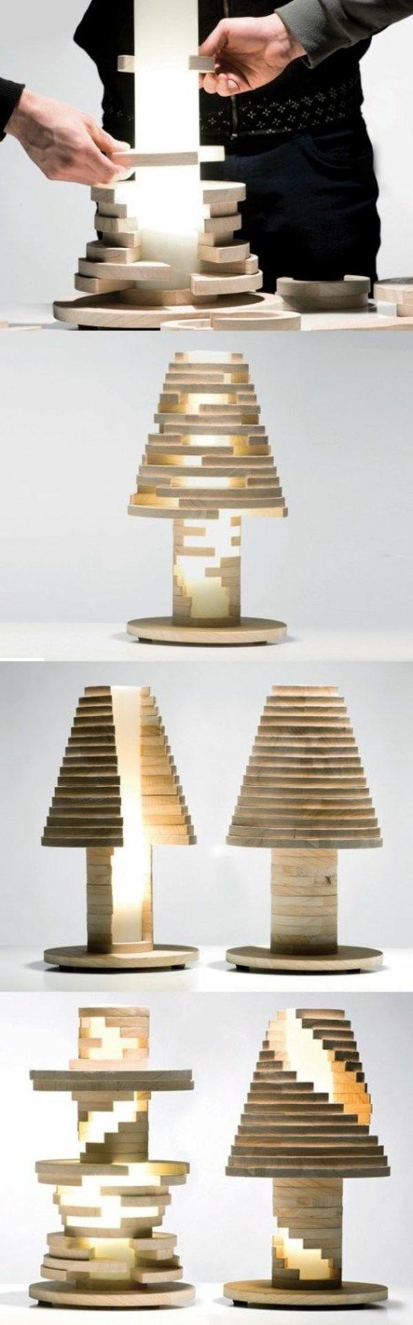 lampe-en-bois-ornement