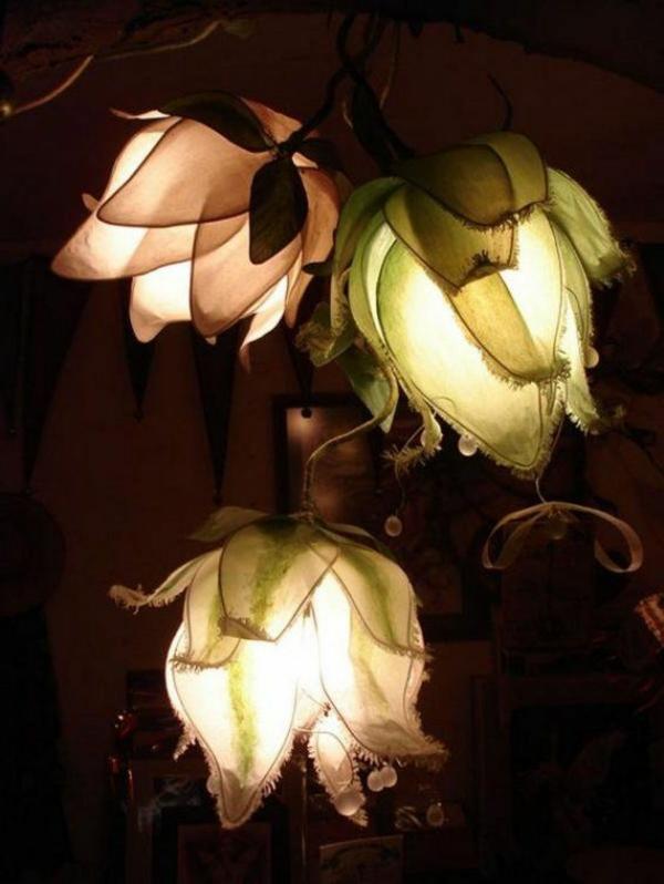 lampe-idéе-déco-fleurs