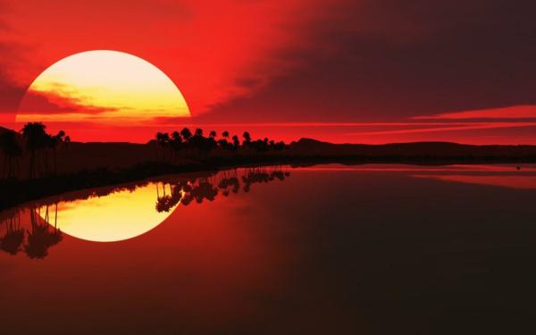 le-coucher-du-soleil-sur-la-mer-rouge