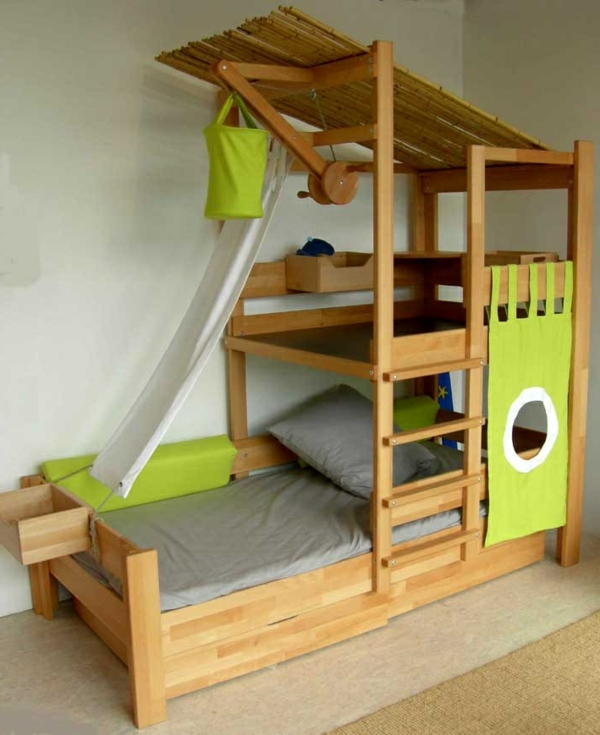 kids bunk beds for boys. Black Bedroom Furniture Sets. Home Design Ideas