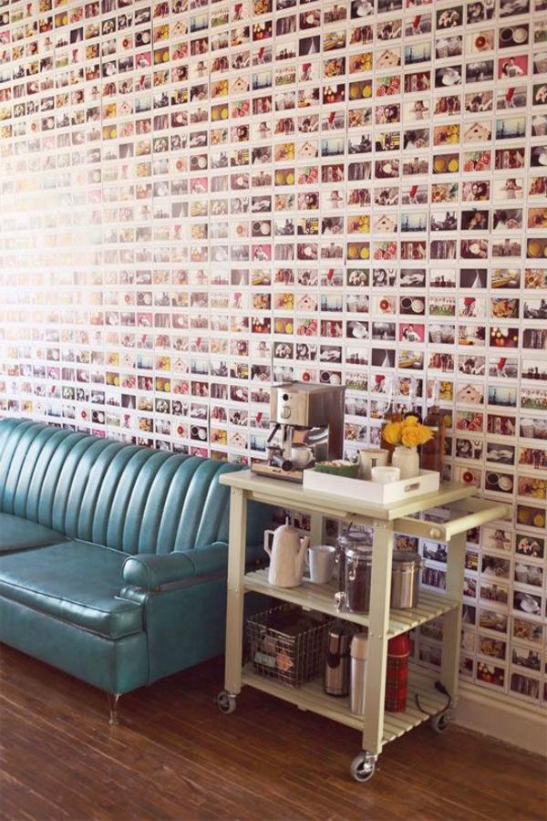 le-mur-avec-les-photos-séjour-sofa