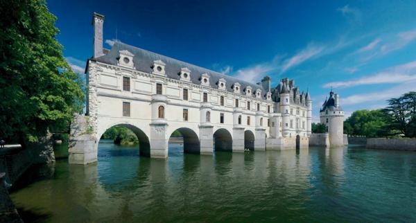 les-châteaux-de-la-Loire-les-arcs-magnifiques-de-Chenonceau