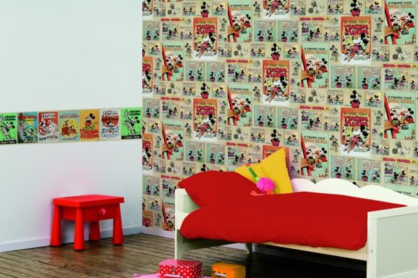 les-décorations-murales-qui-vont-vous-inspirer-chambre-enfant-mickey-mouse