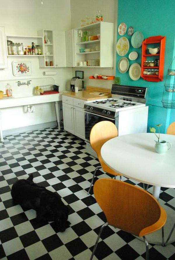 Poser du lino dans votre demeure id es en photos - Lino imitation carrelage ancien ...