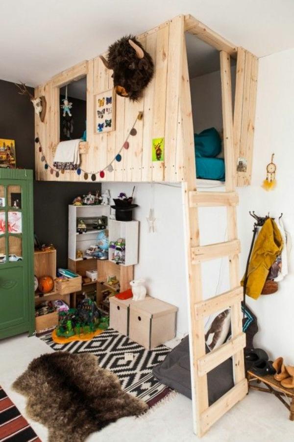 lit-bébé-bois-chambre-moderne
