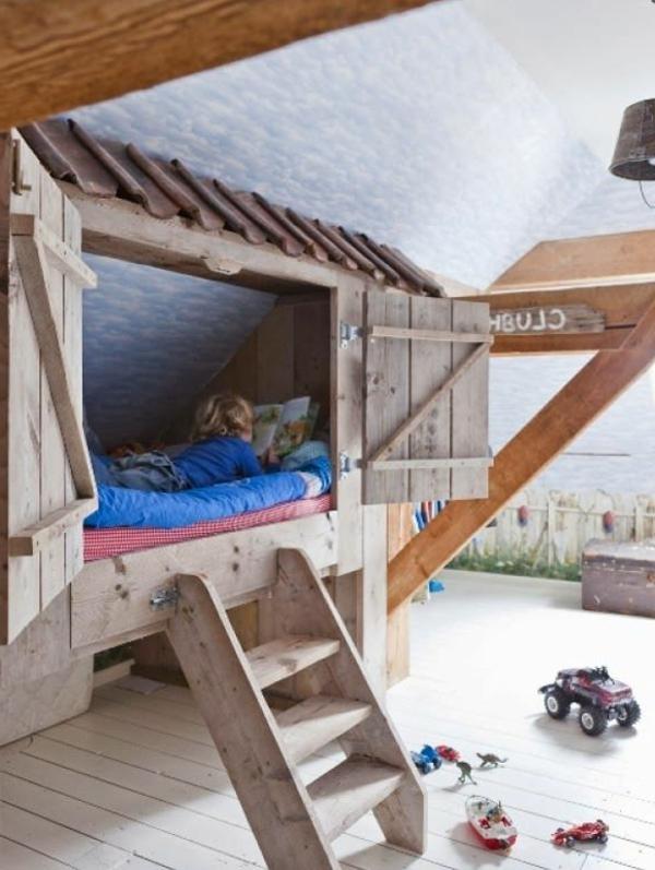 Le plus beau lit cabane pour votre enfant - Cabane pour lit enfant ...