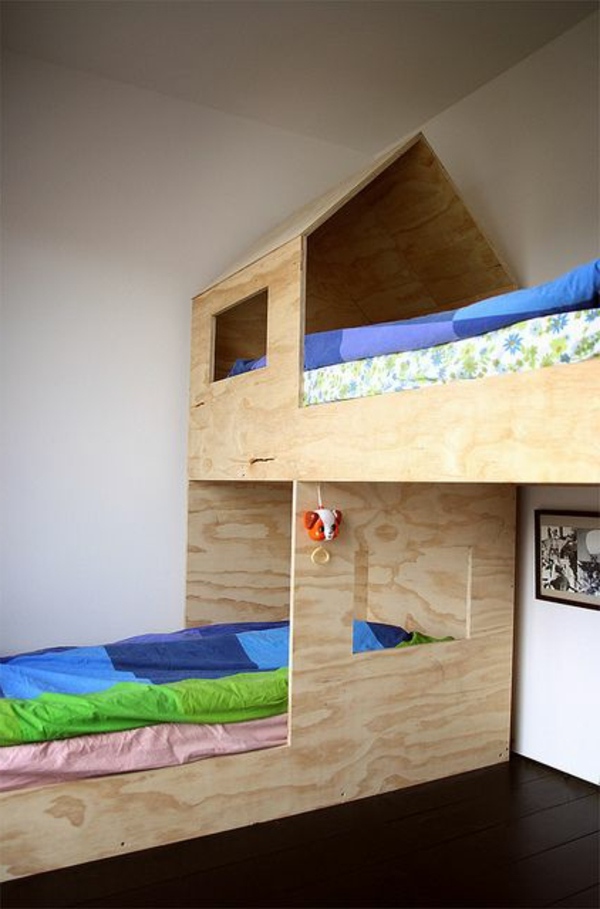 Le plus beau lit cabane pour votre enfant for Lit pour petite chambre
