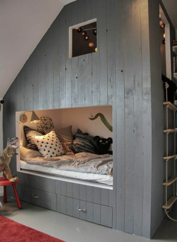 Le plus beau lit cabane pour votre enfant for Lit superpose maison du monde