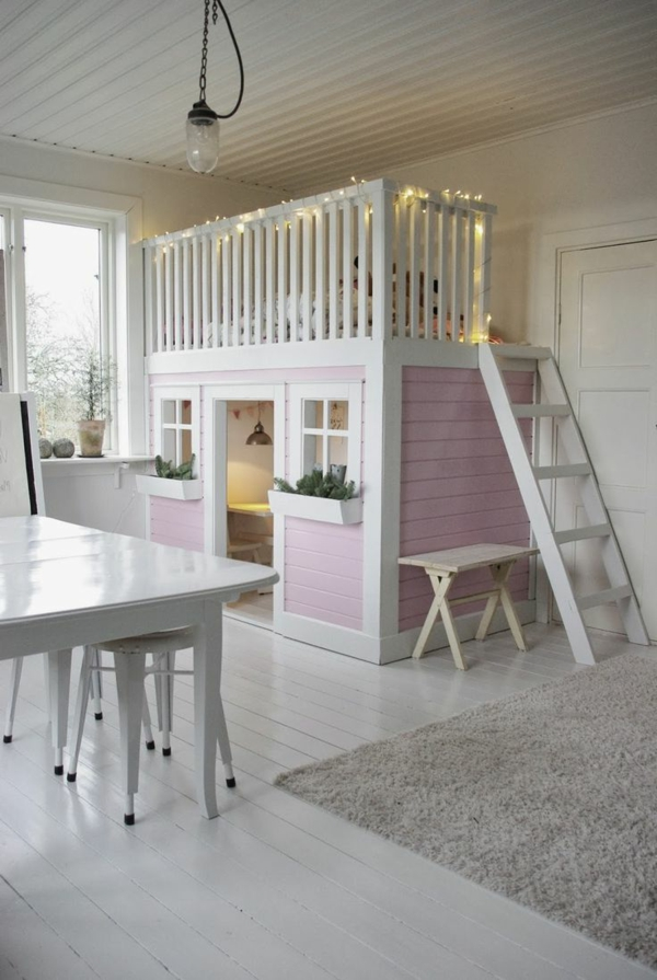 lit cabane enfant fille latest amazing lit cabane enfant. Black Bedroom Furniture Sets. Home Design Ideas
