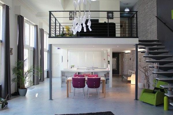 loft-parisien-appartement-à-deux-niveaux