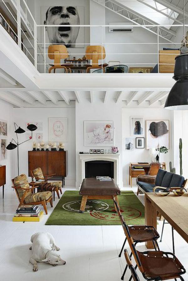 loft-parisien-appartement-industriel-de-deux-niveaux