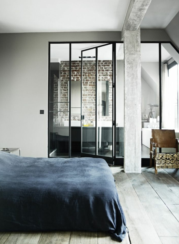le loft parisien inspiration et style unique. Black Bedroom Furniture Sets. Home Design Ideas