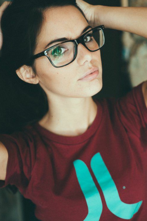 lunettes-de-vue-cat-eye-femme-t-shirt