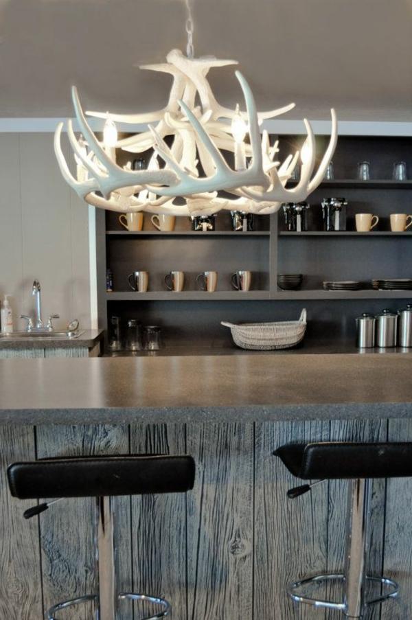 lustre-blanc-plafond-suspendu-bar
