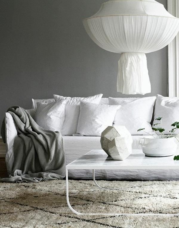 les variantes convenables pour la suspension blanche. Black Bedroom Furniture Sets. Home Design Ideas