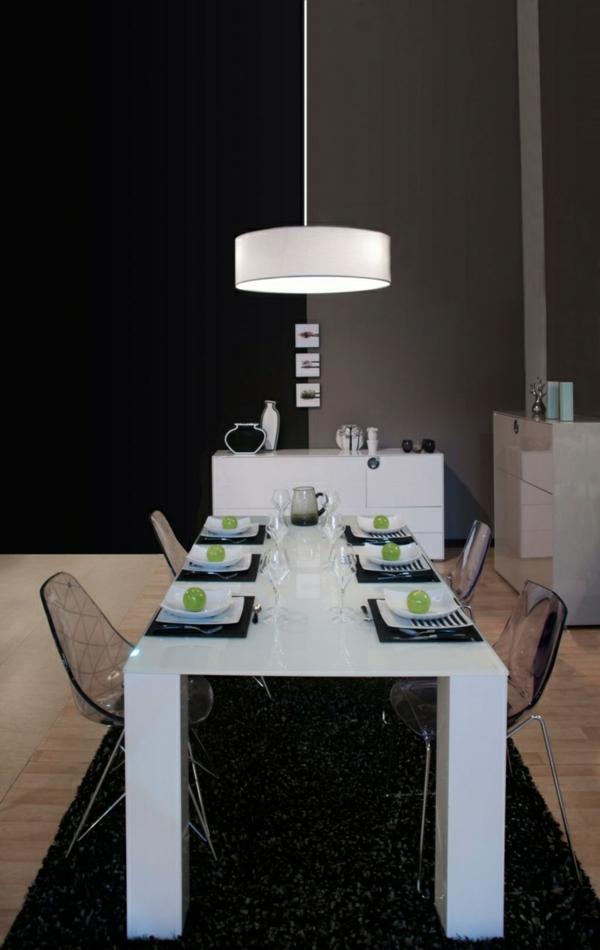 lustre-suspendu-plafond-cuisine