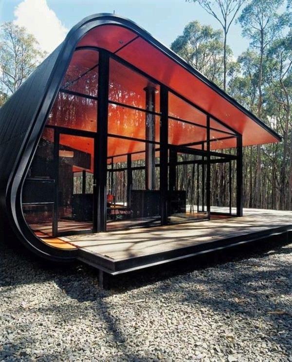La maison plain pied moderne for Maison moderne foret