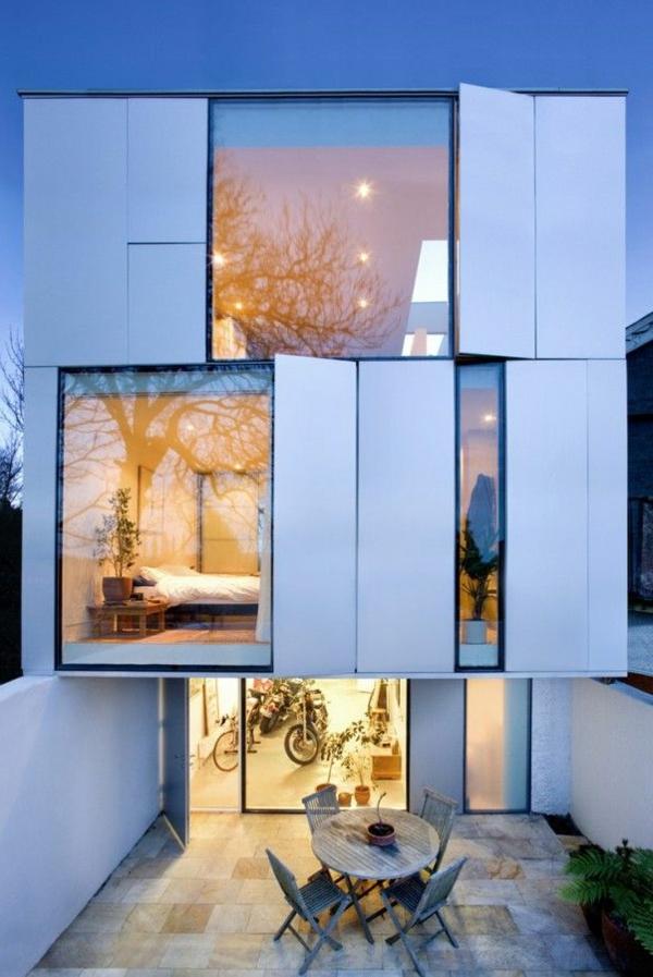 maison-cubique-originale-façade-créative