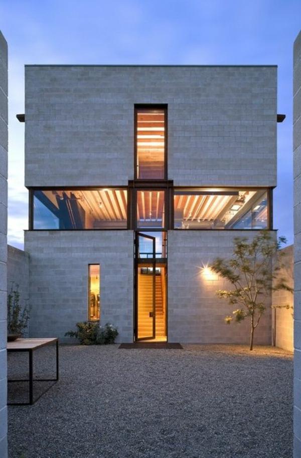 La maison cubique en 85 photos for Maison cubique plain pied