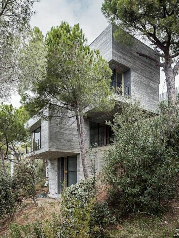 La maison cubique en 85 photos - Maison en pleine nature ...