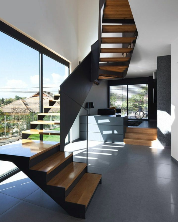 La maison cubique en 85 photos for Architecture maison interieur