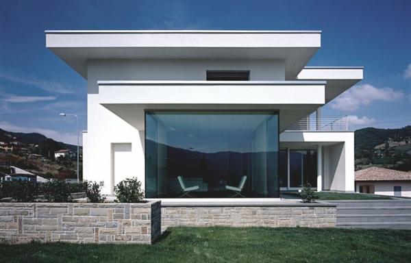 maison cubique d'architecte