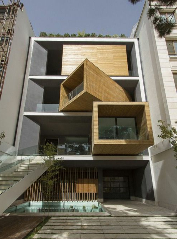 La maison cubique en 85 photos for Maison modulaire moderne