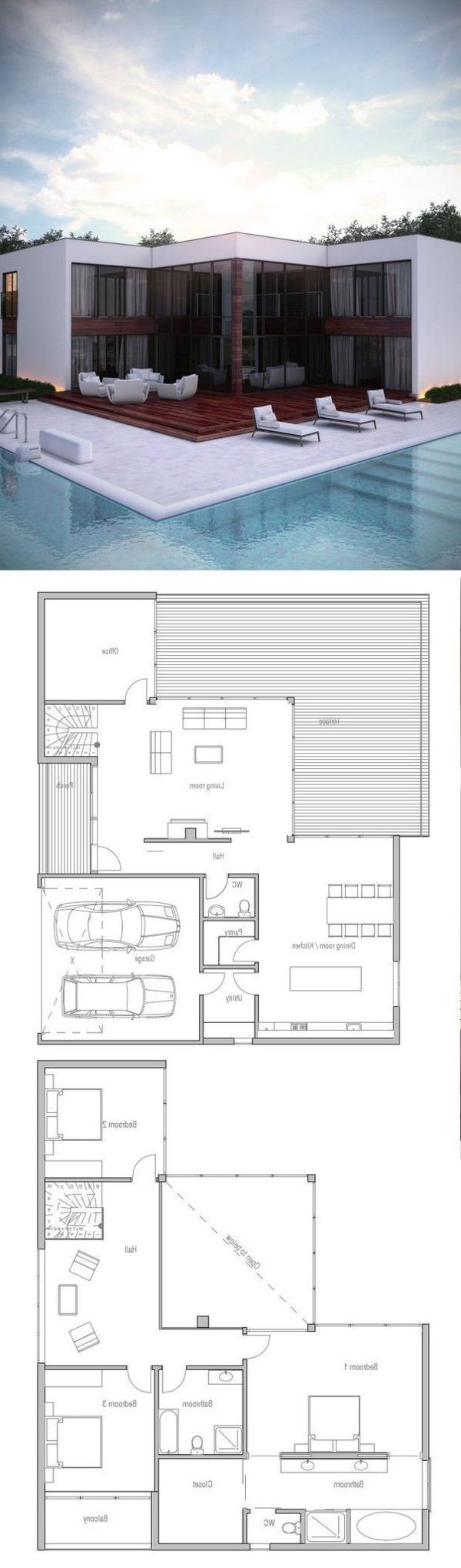 maison-moderne-style-américain-plan-réalisation