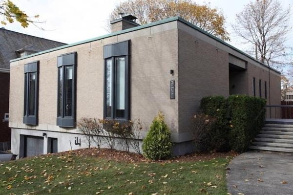 La maison plain pied moderne for Maison plain pied style americain