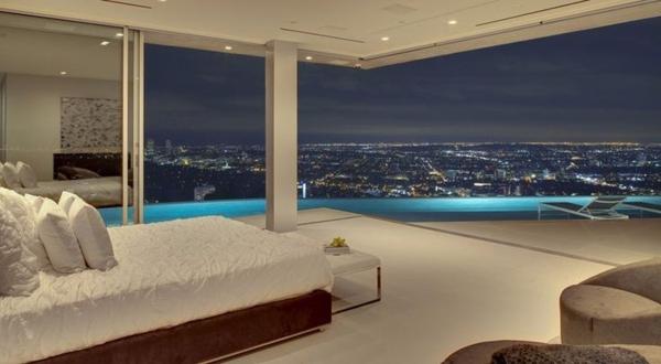 maison-plain-pied-moderne-chambre-à-coucher