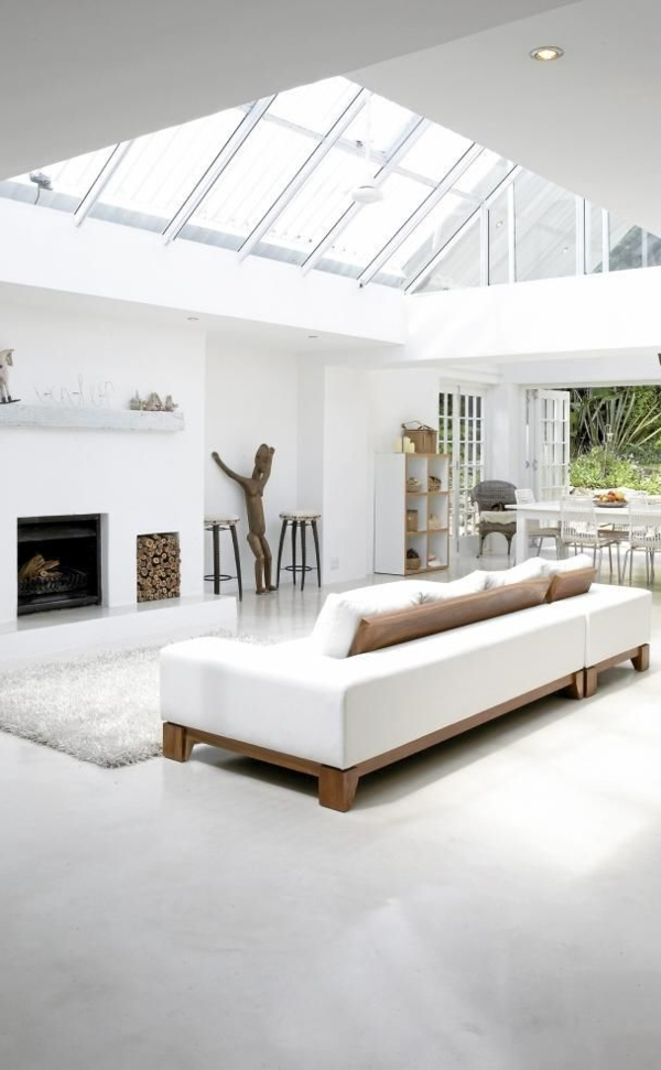Maison luxe plain pied solutions pour la d coration int rieure de votre maison - Maison contemporaine meuble ...