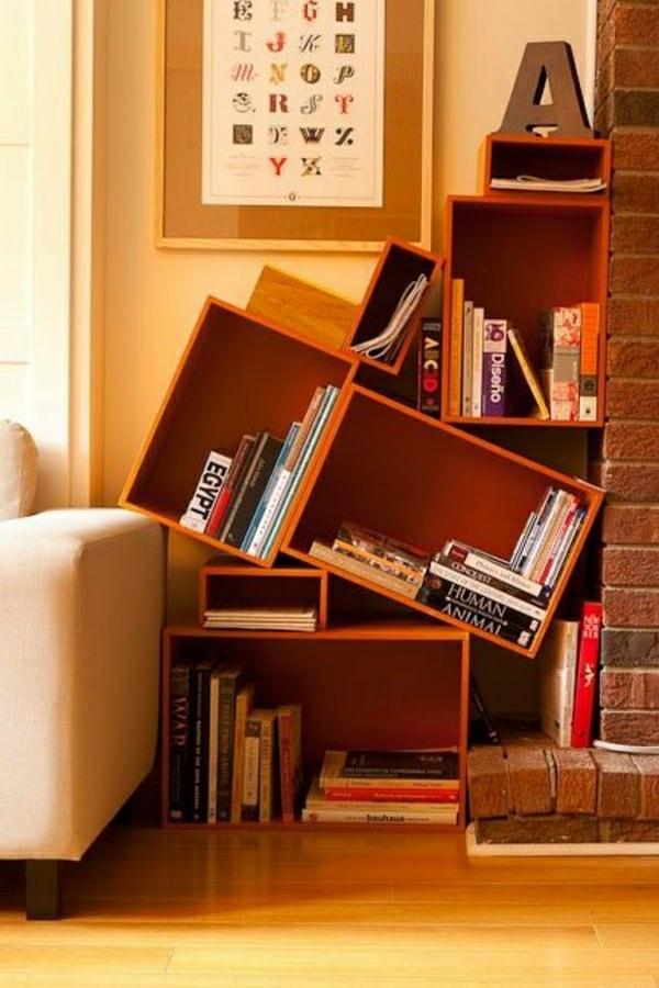 meuble-bibliothèque-asymétrique