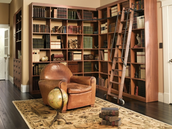 Designs cr atifs de meuble biblioth que - Bibliotheque decoration de maison ...