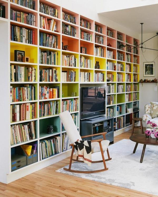 meuble-bibliothèque-bibliothèque-murale-blanche