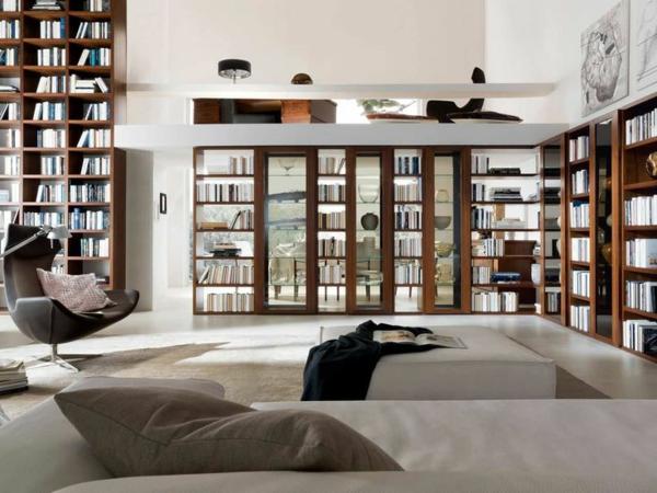 meuble-bibliothèque-dans-une-salle-de-séjour-contemporaine