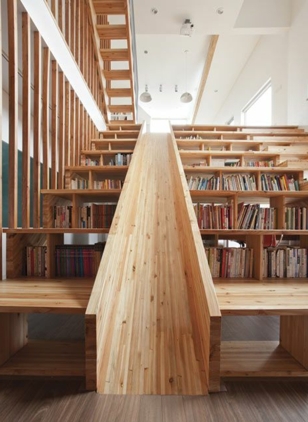 meuble-bibliothèque-exceptionnel-en-bois