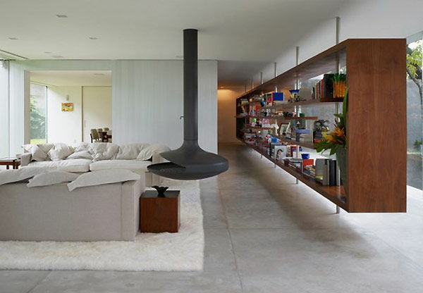 meuble-bibliothèque-flottant